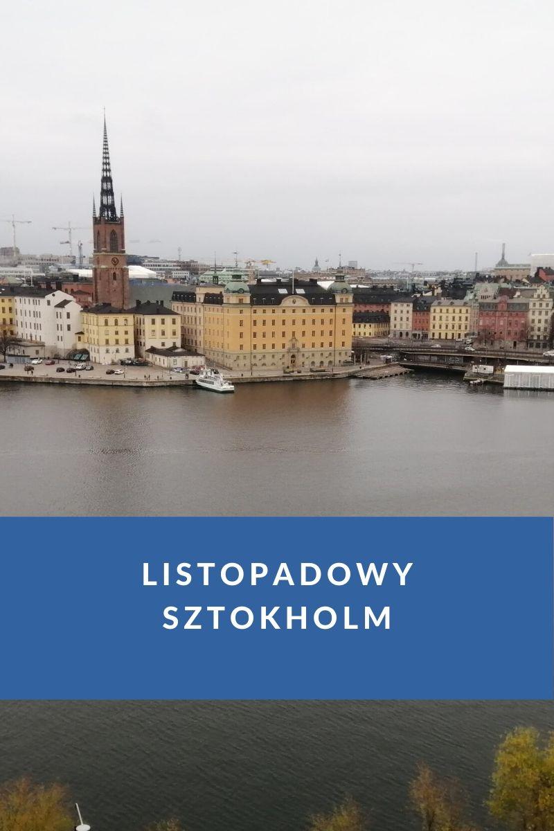 sztokholm jesienią