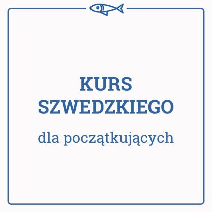 Kurs Szwedzkiego dla początkujących