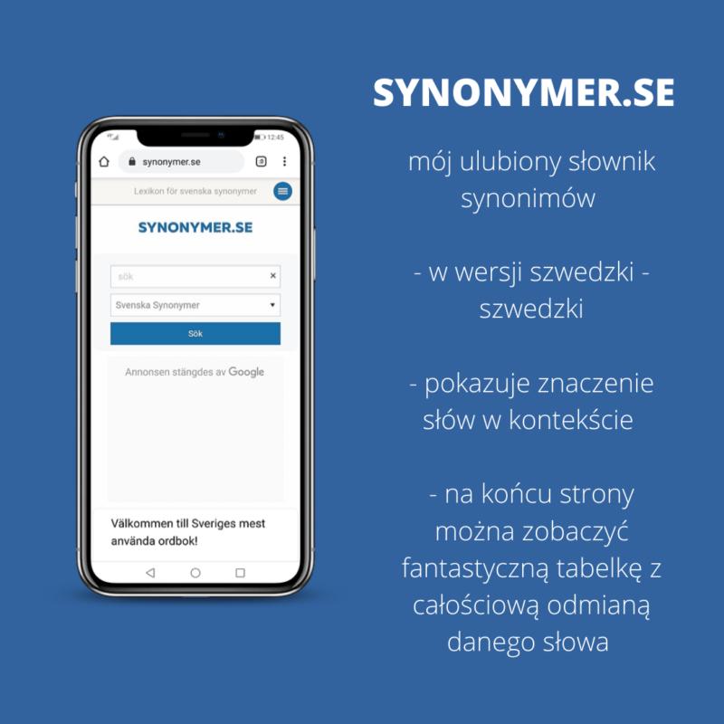 słownik synonimów szwedzki, szwedzkie słowniki