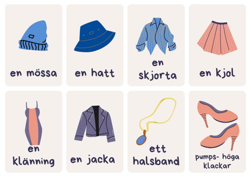 ubrania po szwedzku
